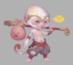 Lil' Wukong by suburbbum