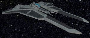 Kom'rk Starfighter/Transport by StarToursTraveler
