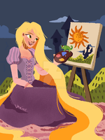 Rapunzel by gintonicbb