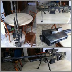 Sniper Rifle from HALO Reach by BazSg