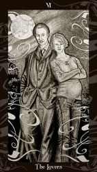 HP Tarot - 6 The Lovers by Ellygator