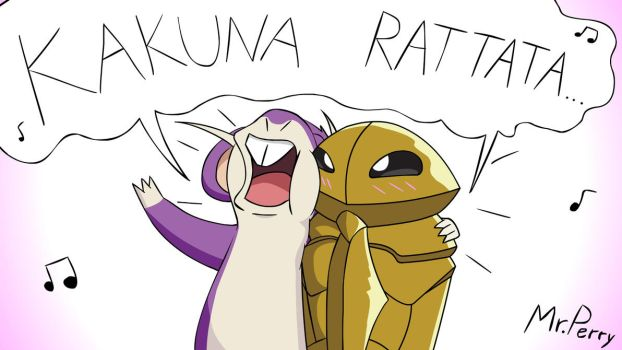 Kakuna Rattata... by Mr-Perry