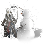 Connor and the Snowman - Un Finished by MatthewHogben