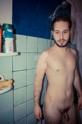 In the bathroom by AndreaC87