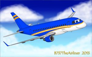 Terry the Embraer E-170 by A320TheAirliner