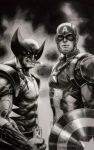 WOLVERIN and CAP