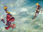Kingdom Hearts Sky Wallpaper by Reinohikari