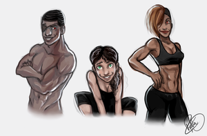 Workout Buddies by PayLe