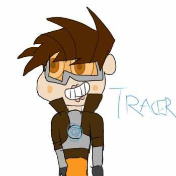 Tracer in SVTFOE Style by SuperMario1792