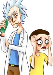 Day 3: Rick and Morty by DrE-aMeR