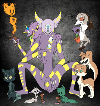 The Abandoned and Forgotten Species by BonnieTheGamer01