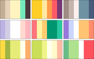 color palettes 4 by RRRAI