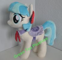 Coco Pommel Plush with saddle by GreenTeaCreations