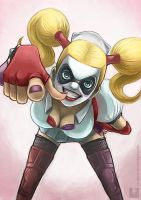 Harley Quinn by Ry-Spirit