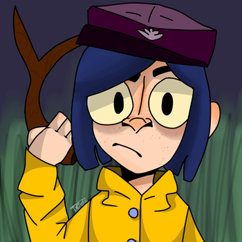 Coraline by Minimall-Carnival