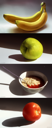 Foods you could potentially have for breakfast by Chiakiro