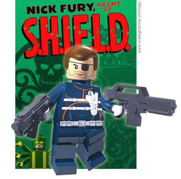 Lego Nick Fury by mikenap22