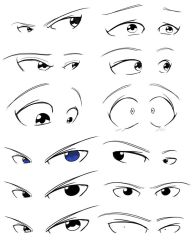 Eyes Reference by Obhan