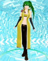 Vocaloid Sonika DL by P-Chan93