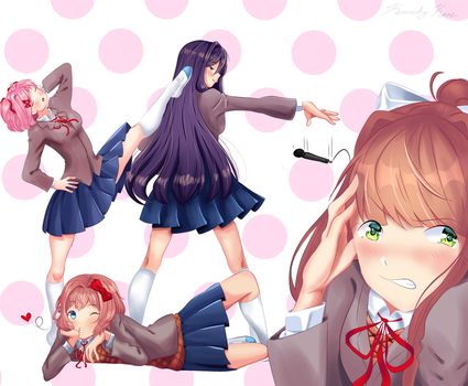 LITerature club by spoops-draws