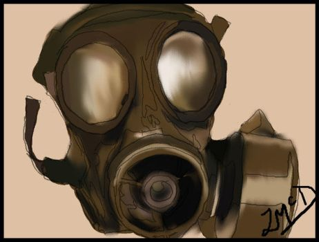 Gas Mask by BeTtEr-Of-TwO-EvilZ
