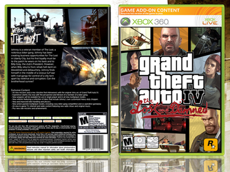 GTA IV The Lost and Damned Box by xGameGuy360x