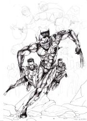 X Men Sketch by EduardoMonteiro