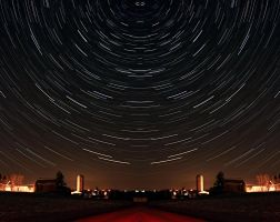 Startrails 1-19-2007 by CobaltPhotography