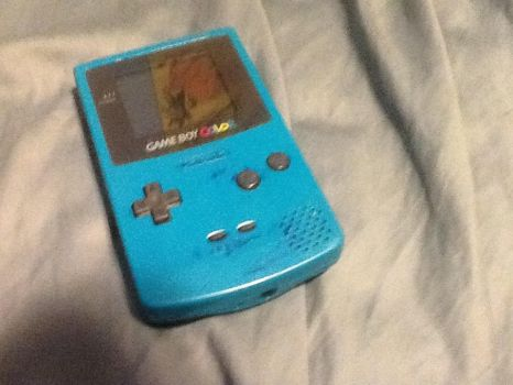 Gameboy Color by SuicuneLuver