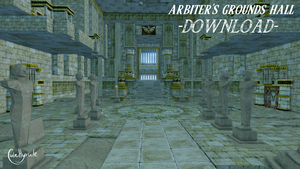Arbiter's Grounds Hall [MMD] DL by JuleHyrule