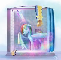 Rainbow Showers by Tsitra360