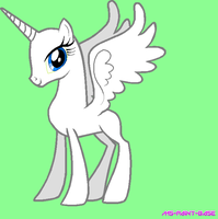 Its an Alicorn by Ms-Paint-Base