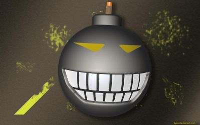 Smiling Bomb Wallpaper Pack by FIYAS