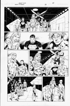 Teen Titans 83 pg 05 Inks by Mariah-Benes