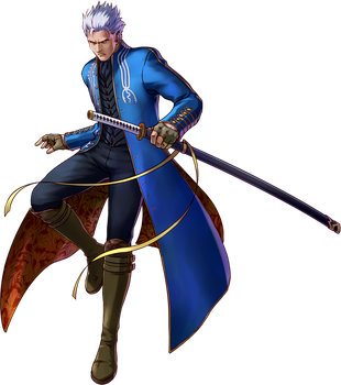 Vergil - Project X Zone 2 by Zeref-ftx