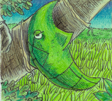 Metapod by Antaie