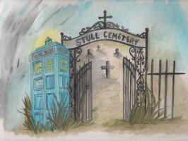 Colliding Worlds: Stull Cemetary and the TARDIS by DragonPress