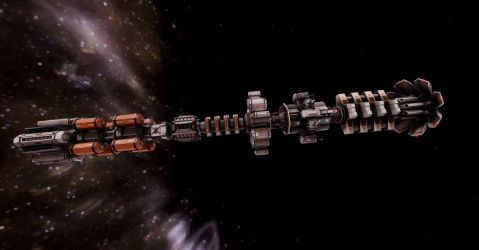 WS-SP-01 Concept Spacship by madaboutgames