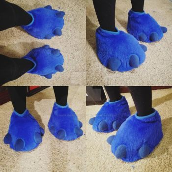 Feetpaws Commission: Stitch Cosplay Feet by RageandRoarCustoms