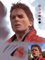 Back to the Future Study 1 by danielmchavez