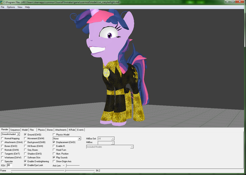 WIP-Yellow Lantern Twilight Fancy Suit test_1A by M00N-CHASER
