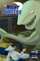 The Night Surfers: Issue 05-Cover by thenightsurfers