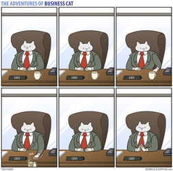 The Adventures of Business Cat - Origins by tomfonder