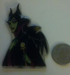 Maleficent Pinpendant by gunslingergal
