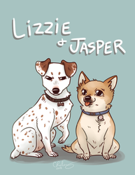 Lizzie and Jasper by Kikiine