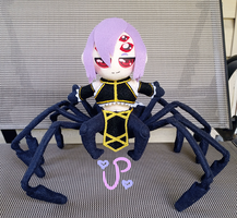 Spoopy Spider Babe by UltraPancake