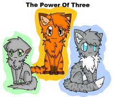 The Power of three by Animerocksthebest