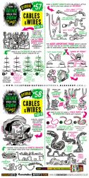 How to draw CABLES, WIRES and HOSES tutorial by STUDIOBLINKTWICE