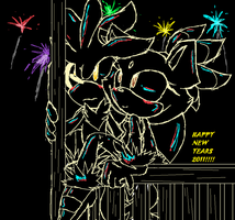 HAPPY NEW YEAR 2011 by MariaTheCat66