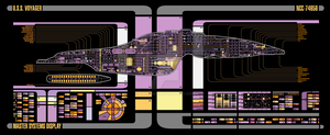 USS Voyager MSD by Bmused55